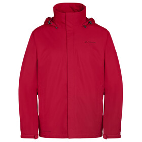 VAUDE Escape Bike Light - Chaqueta Hombre - rojo